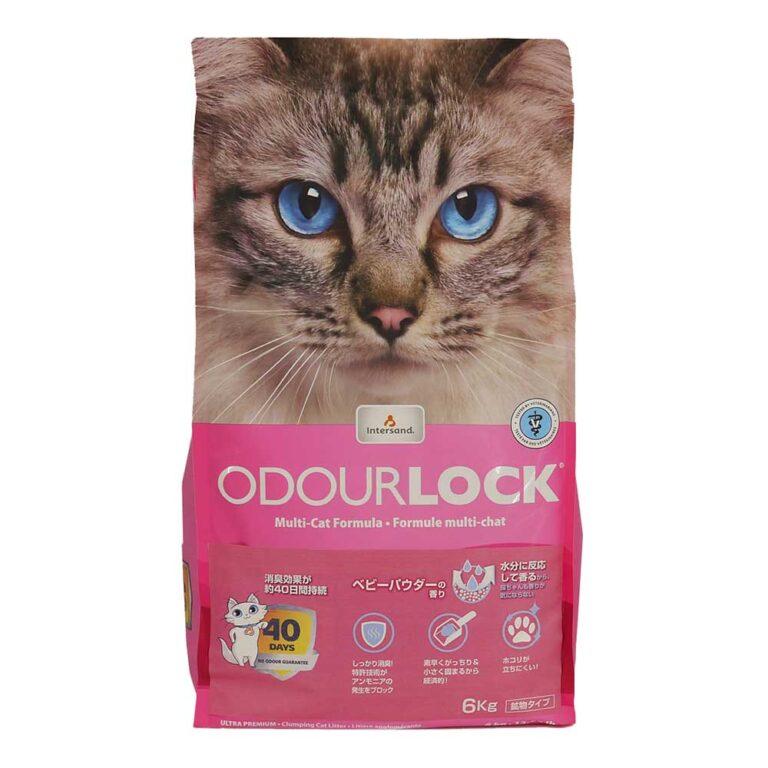 猫砂オードロックベビーパウダー6kg