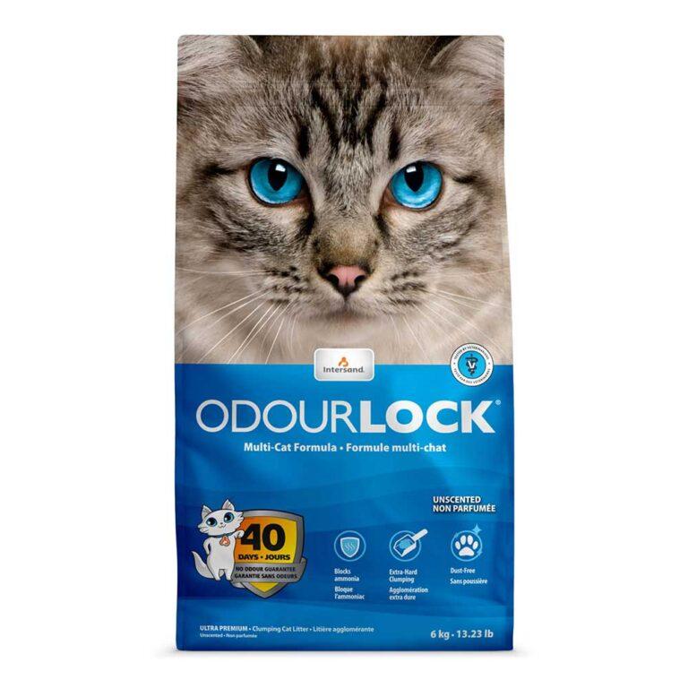 ネコ砂「オードロック」6㎏