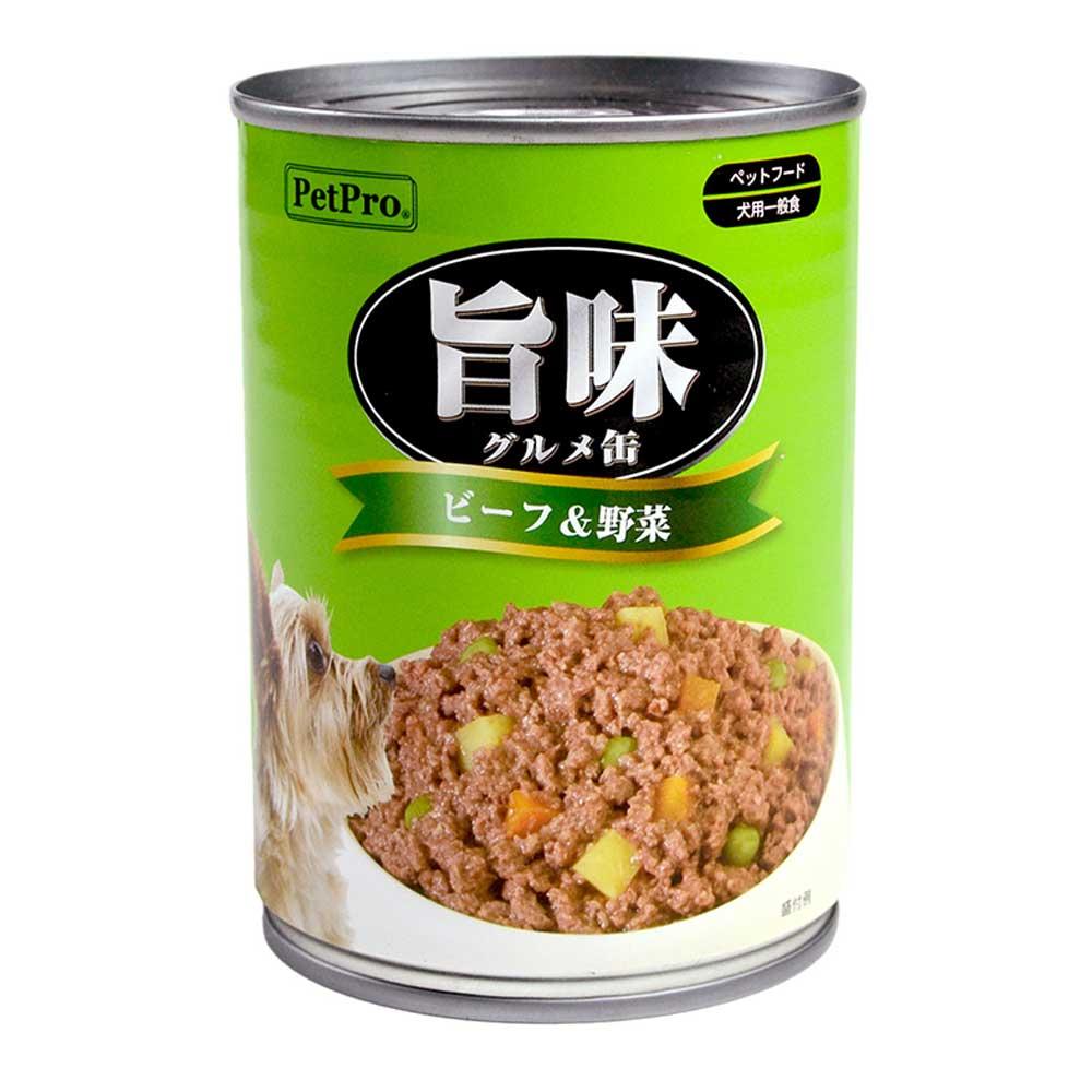 旨味グルメ缶 ビーフ&野菜 375g