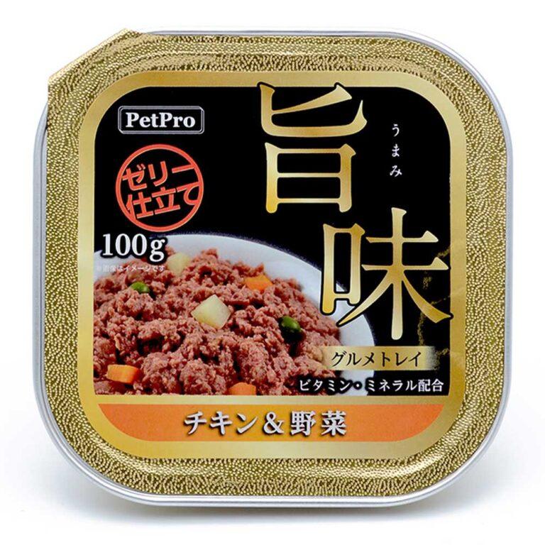 旨味グルメトレイ チキン&野菜 100g