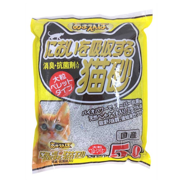 においを吸収する猫砂 5L